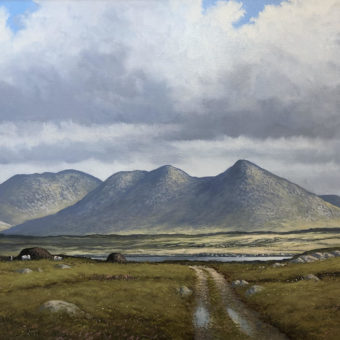 Landscape near Roundstone by Manson Blair