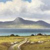 Croagh Patrick from Achill by Manson Blair