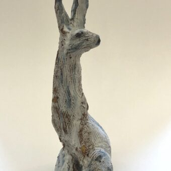 Ceramic Hare II by Claire Finlay
