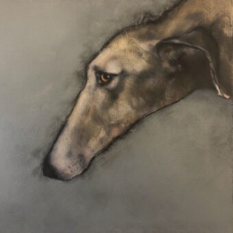 Hound II by Heidi Wickham
