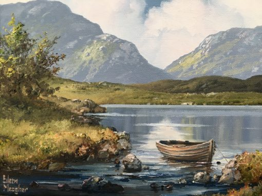 Back to Shore, Lough Inagh by Eileen Meagher