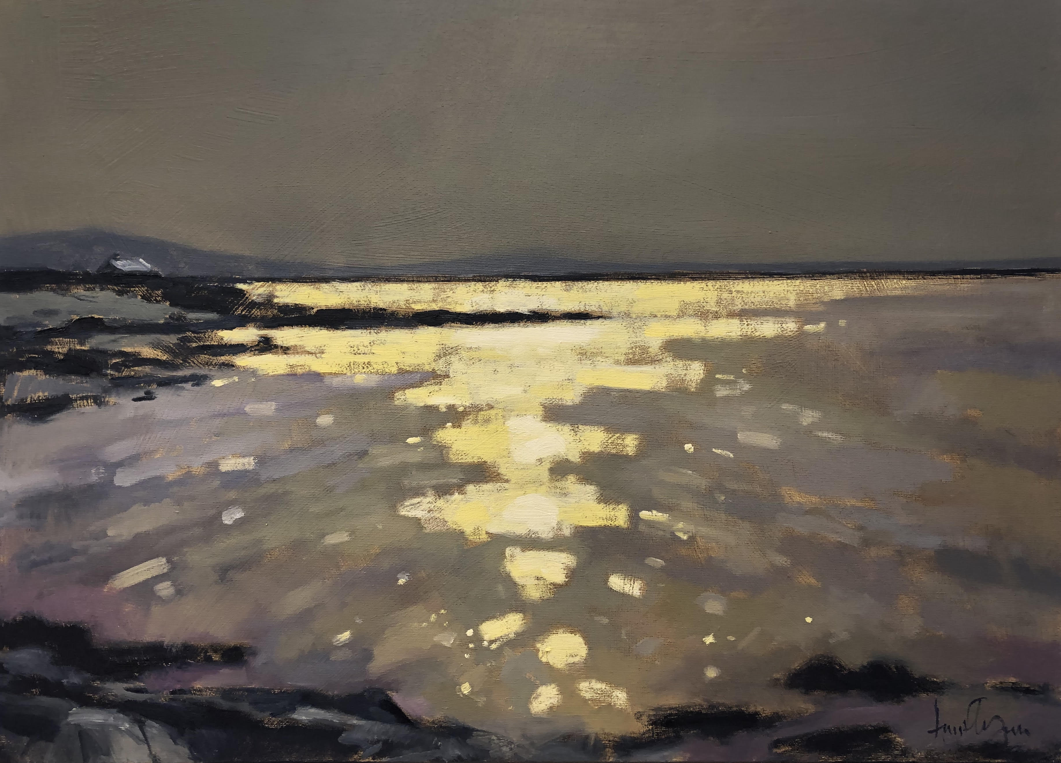 Rocky Shoreline by Ann Flynn