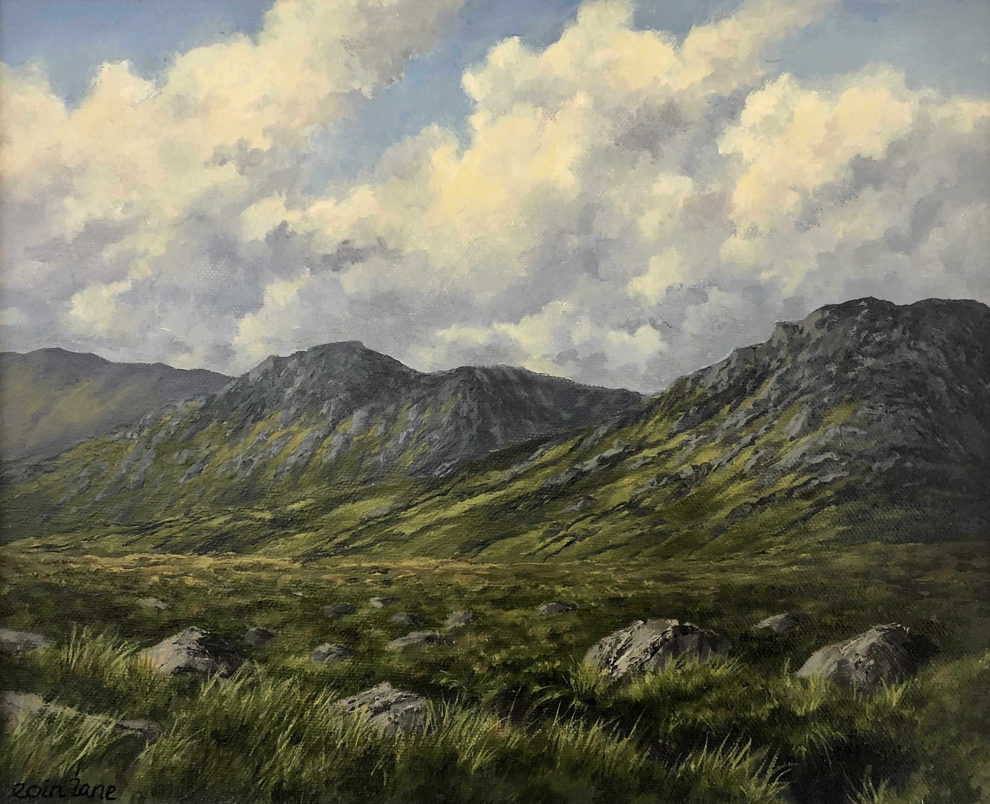 Currywongaun, Tully Cross, Connemara by Eoin Lane