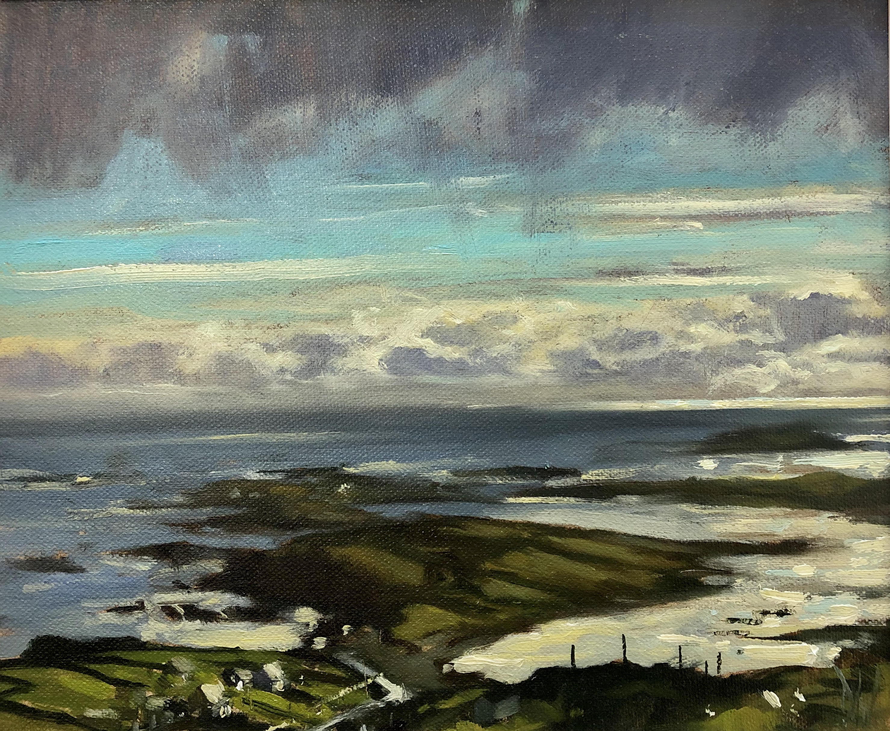 Ardmore from Sky Road by Dave West