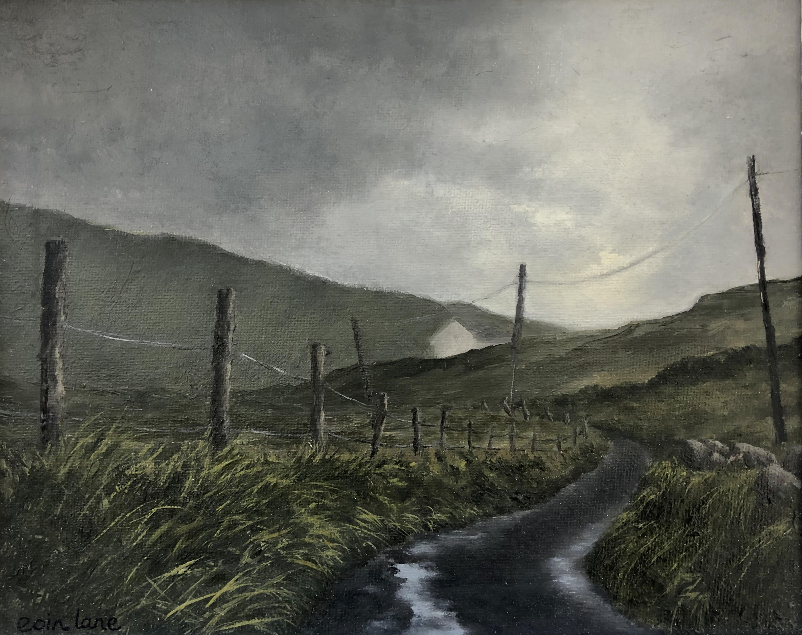 The Road Back from East End, Inishbofin by Eoin Lane