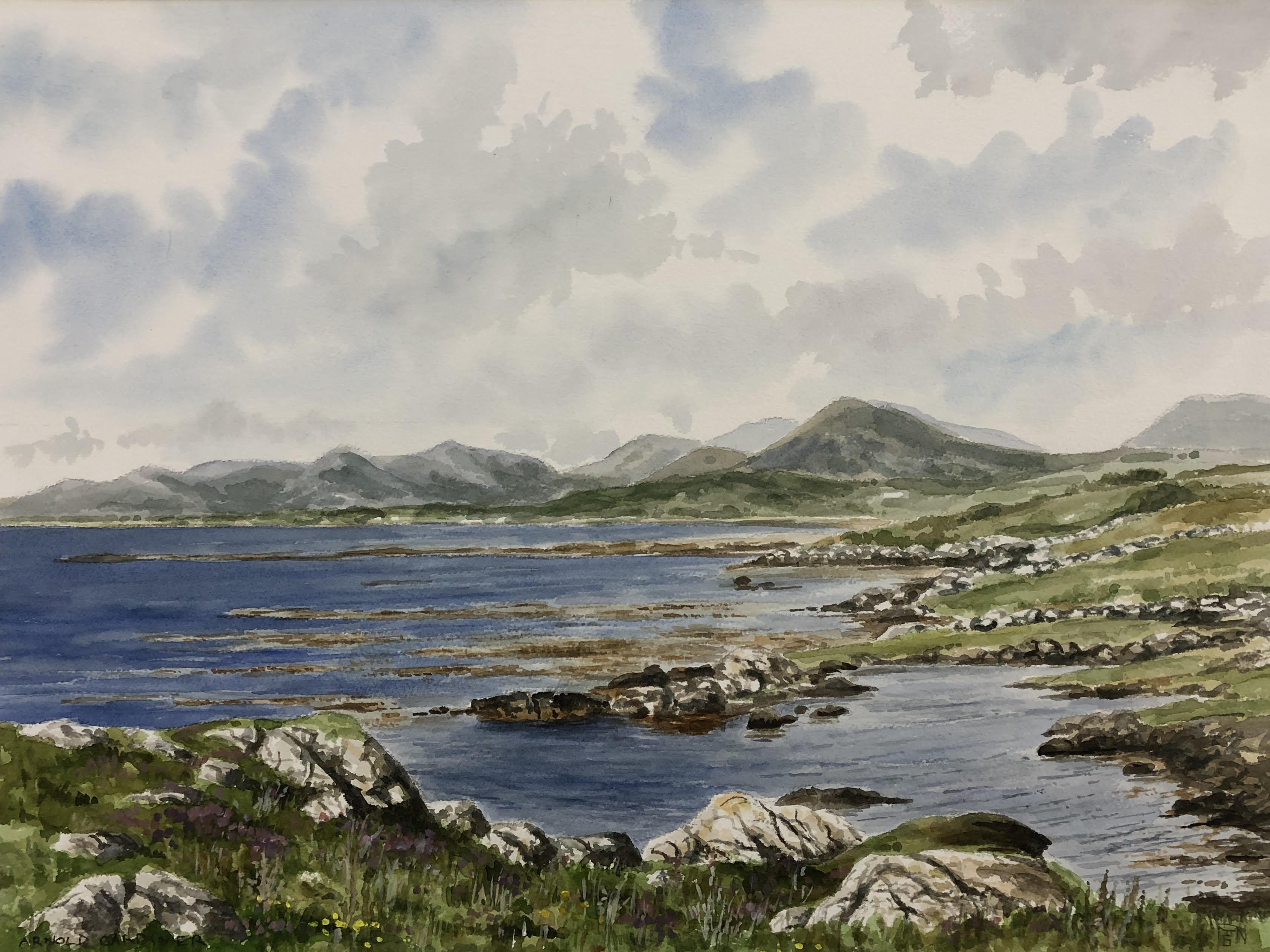 Bertraghboy Bay by Arnold Gardiner