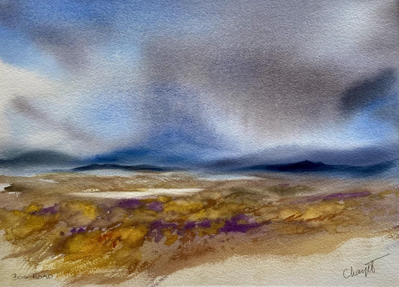Bog Road Autumn by Marianne Chayet