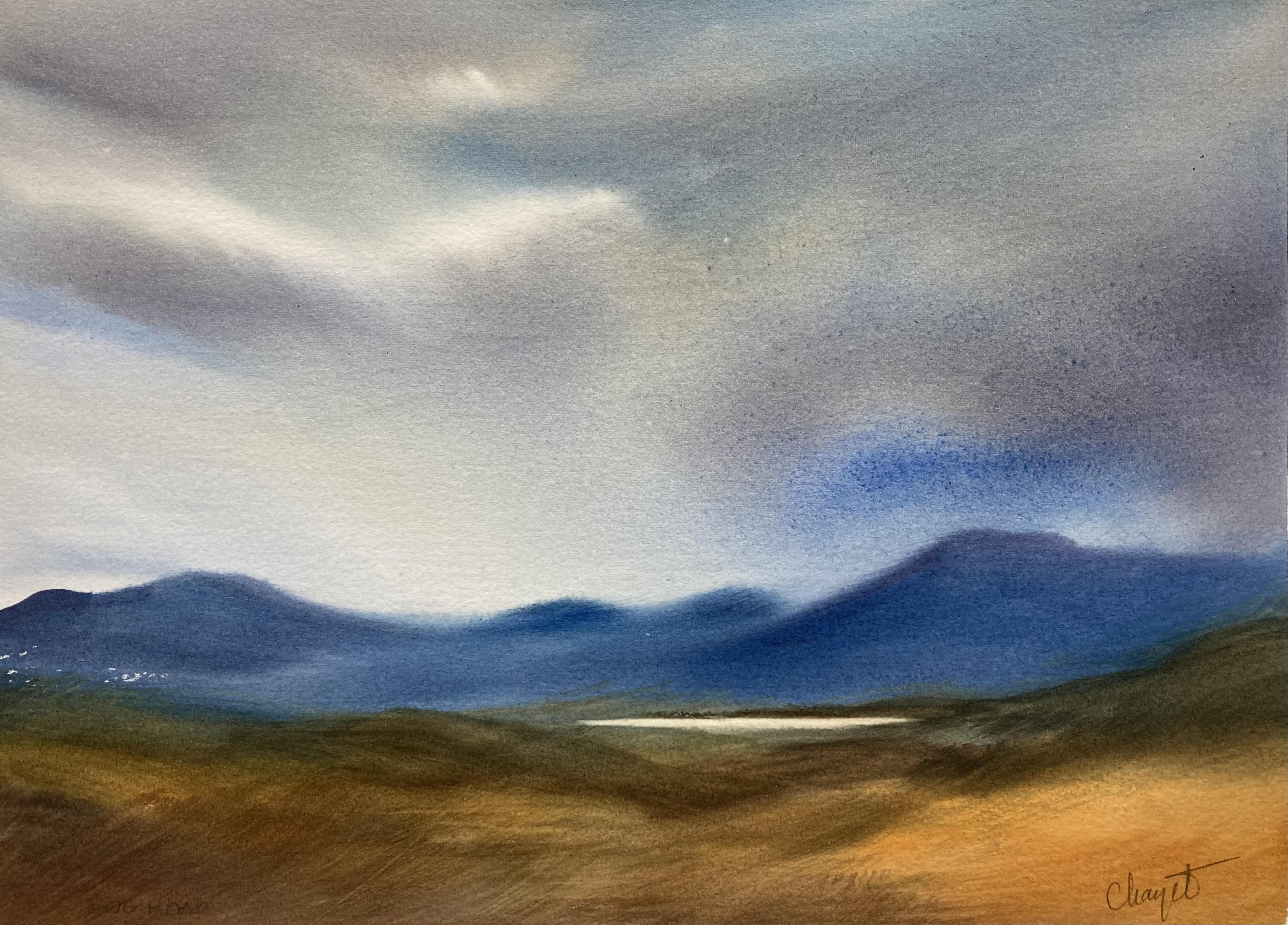 Bog Road Blue by Marianne Chayet