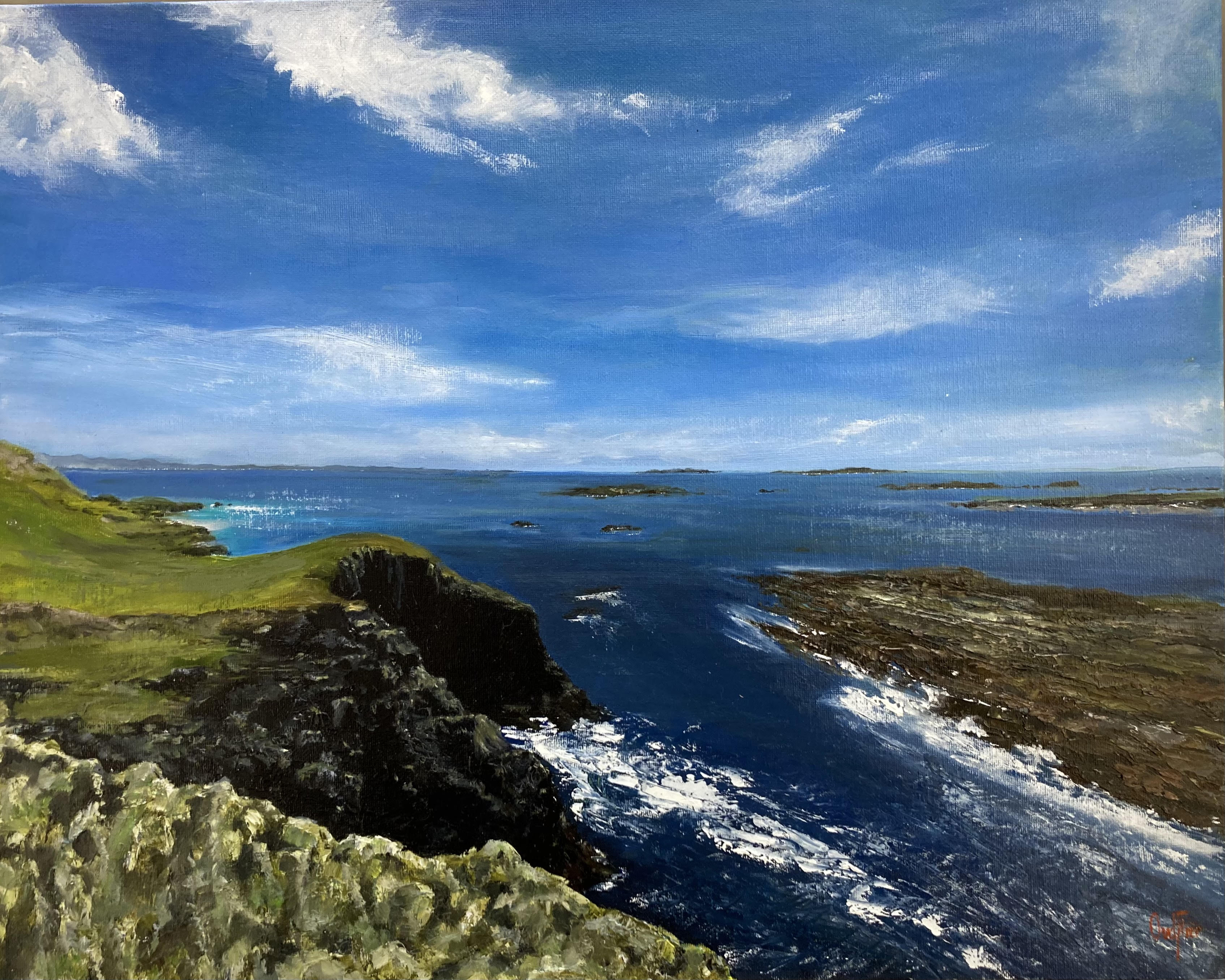 West End, Inishbofin by Olly van der Flier