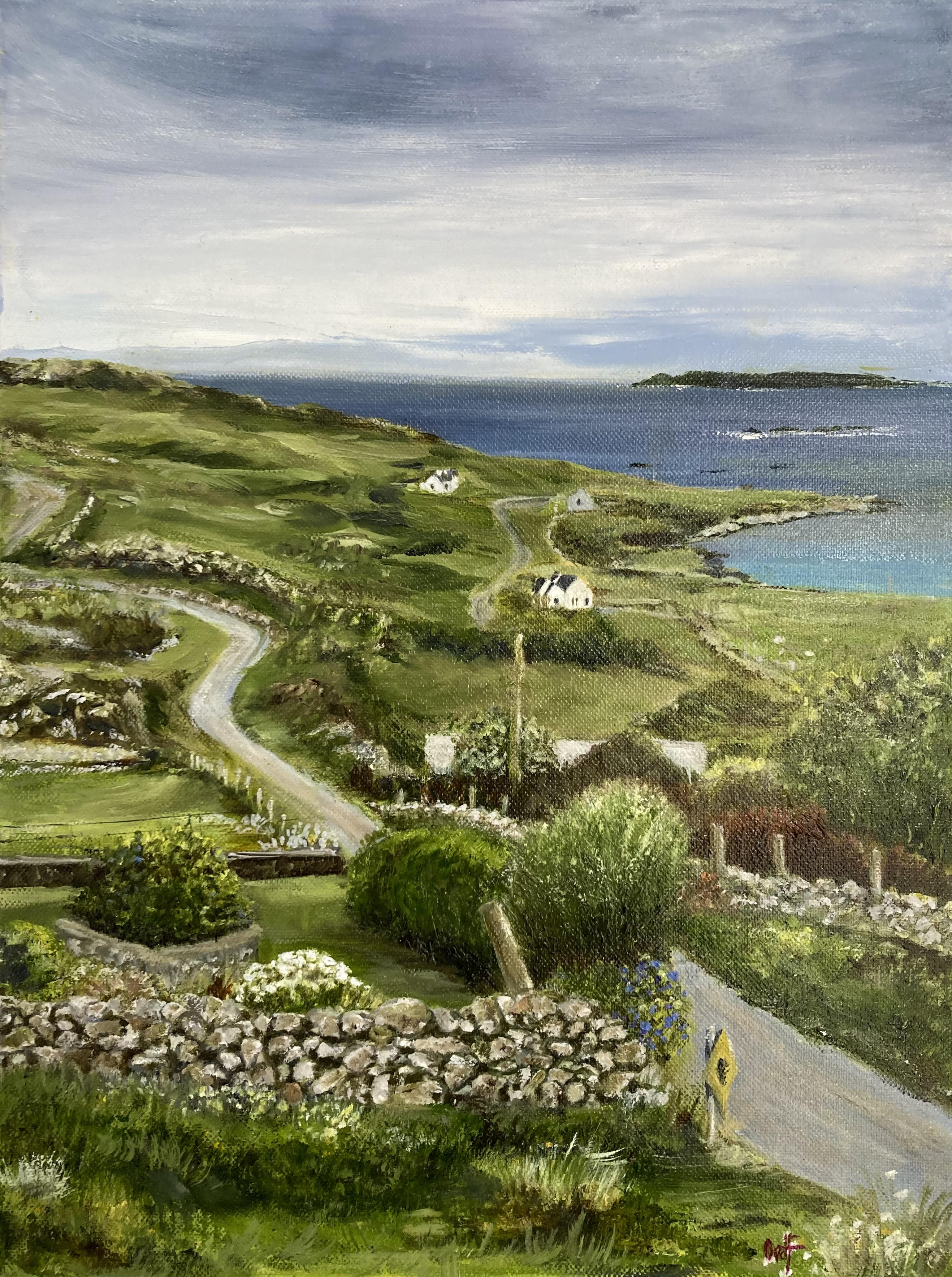 East End, Inishbofin by Olly van der Flier