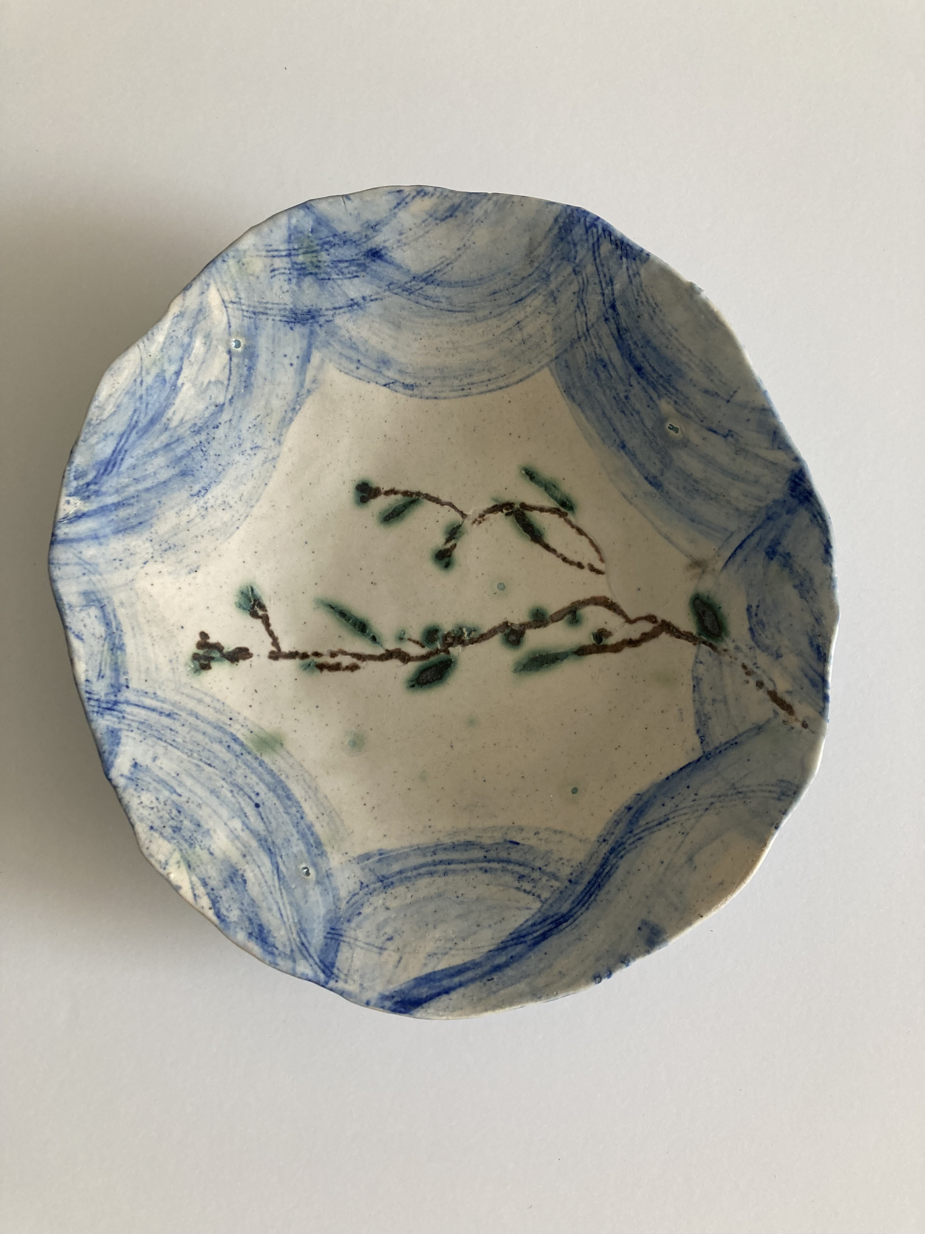 'Seascape' Bowl by Claire Finlay