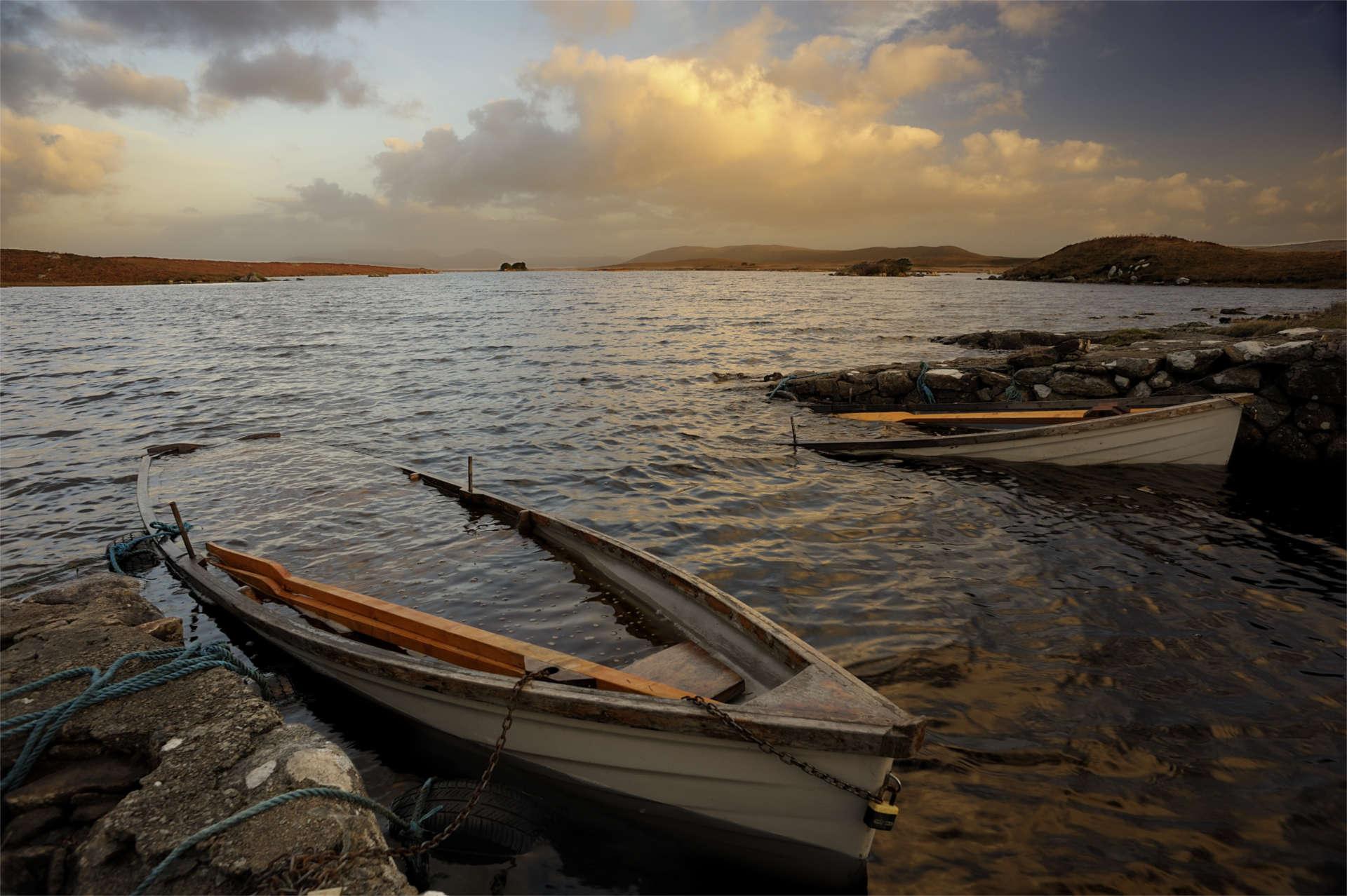 Baid Loch by Aled Owen-Thomas