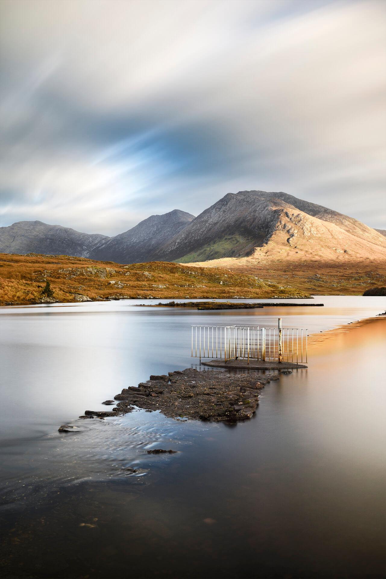 An Geata Uisce, Loch Doire an Chlair, Conamara by Aled Owen-Thomas