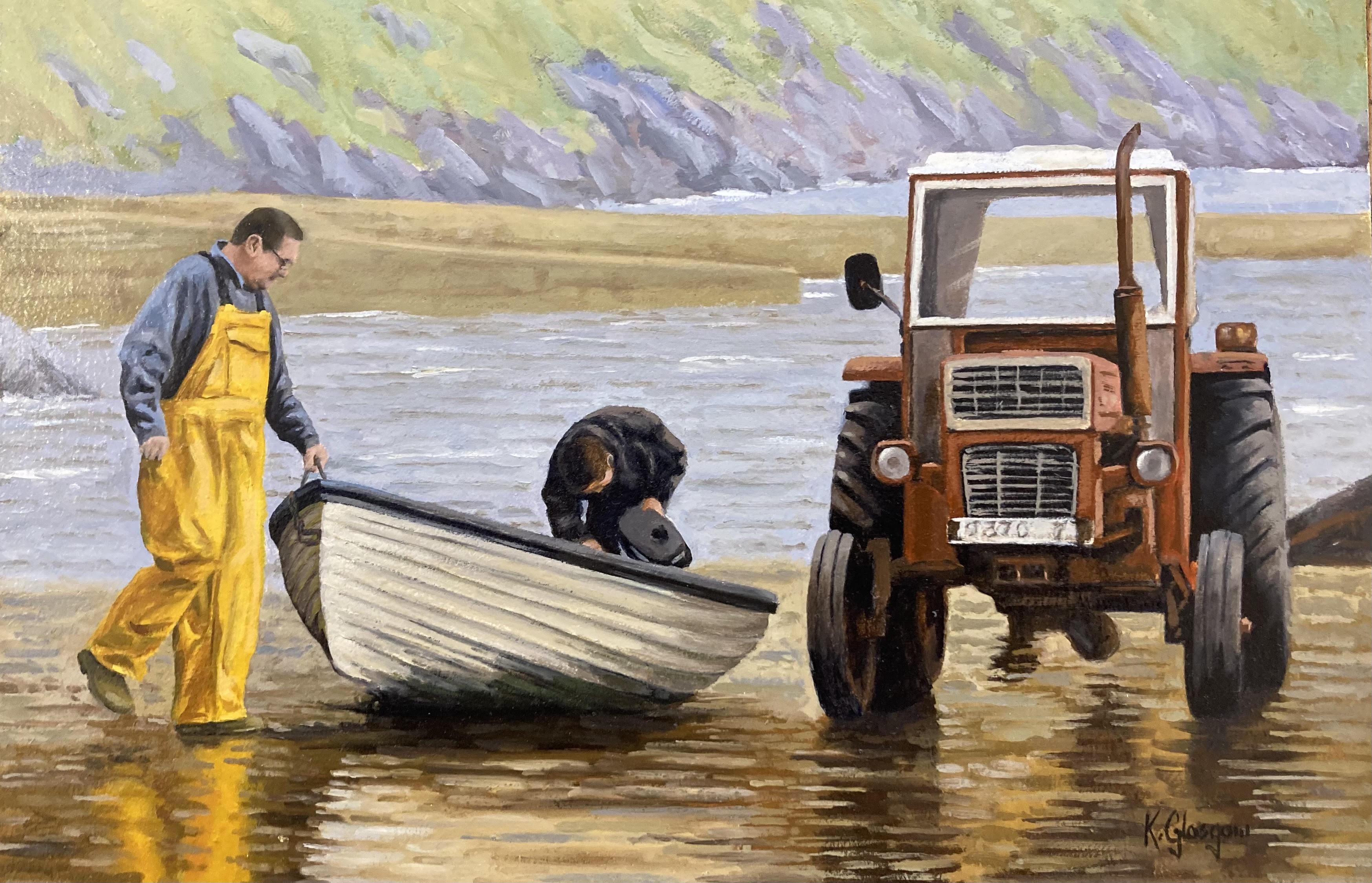 Mayo Boatmen by Keith Glasgow