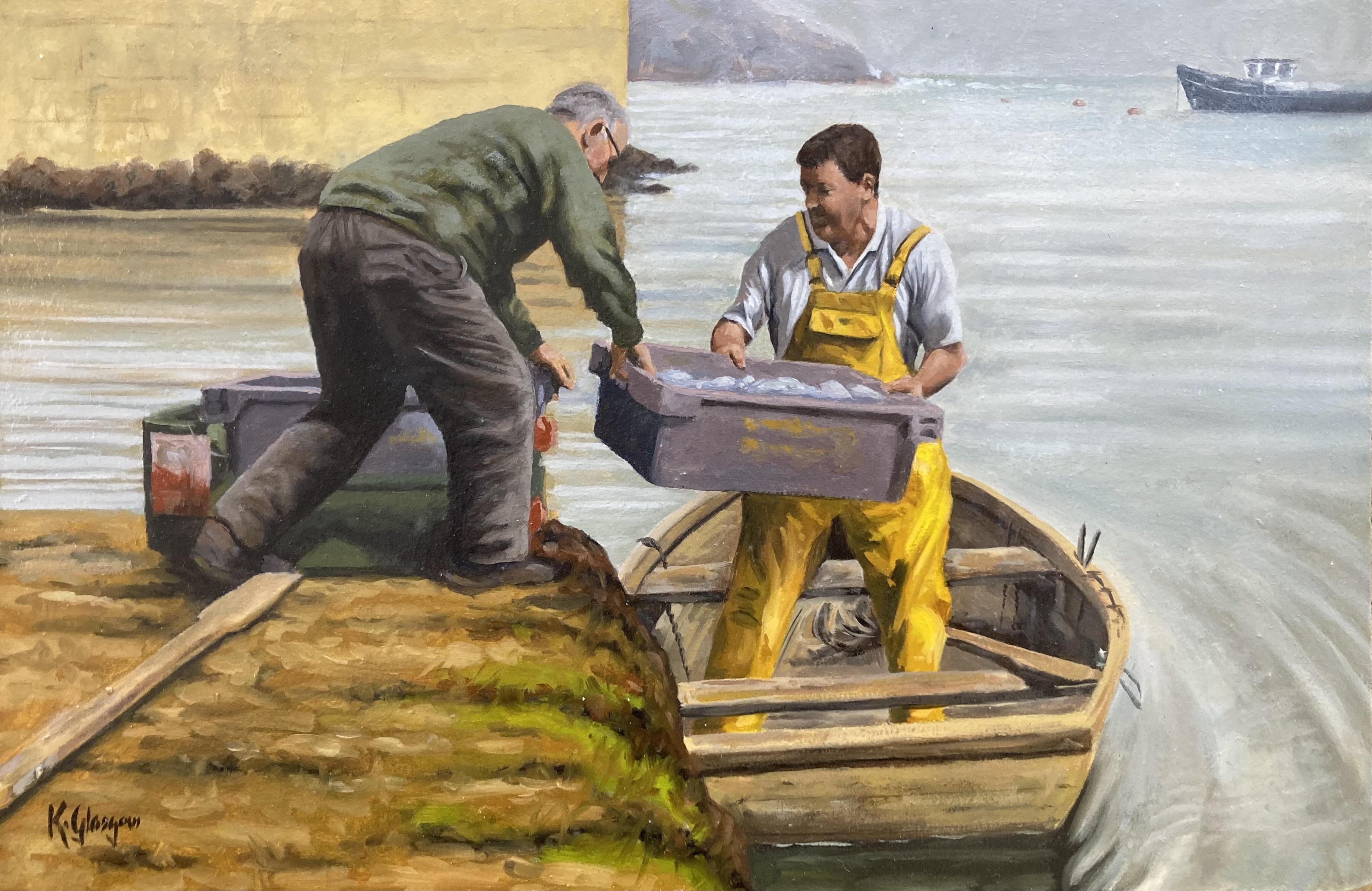 Mayo Fishermen by Keith Glasgow