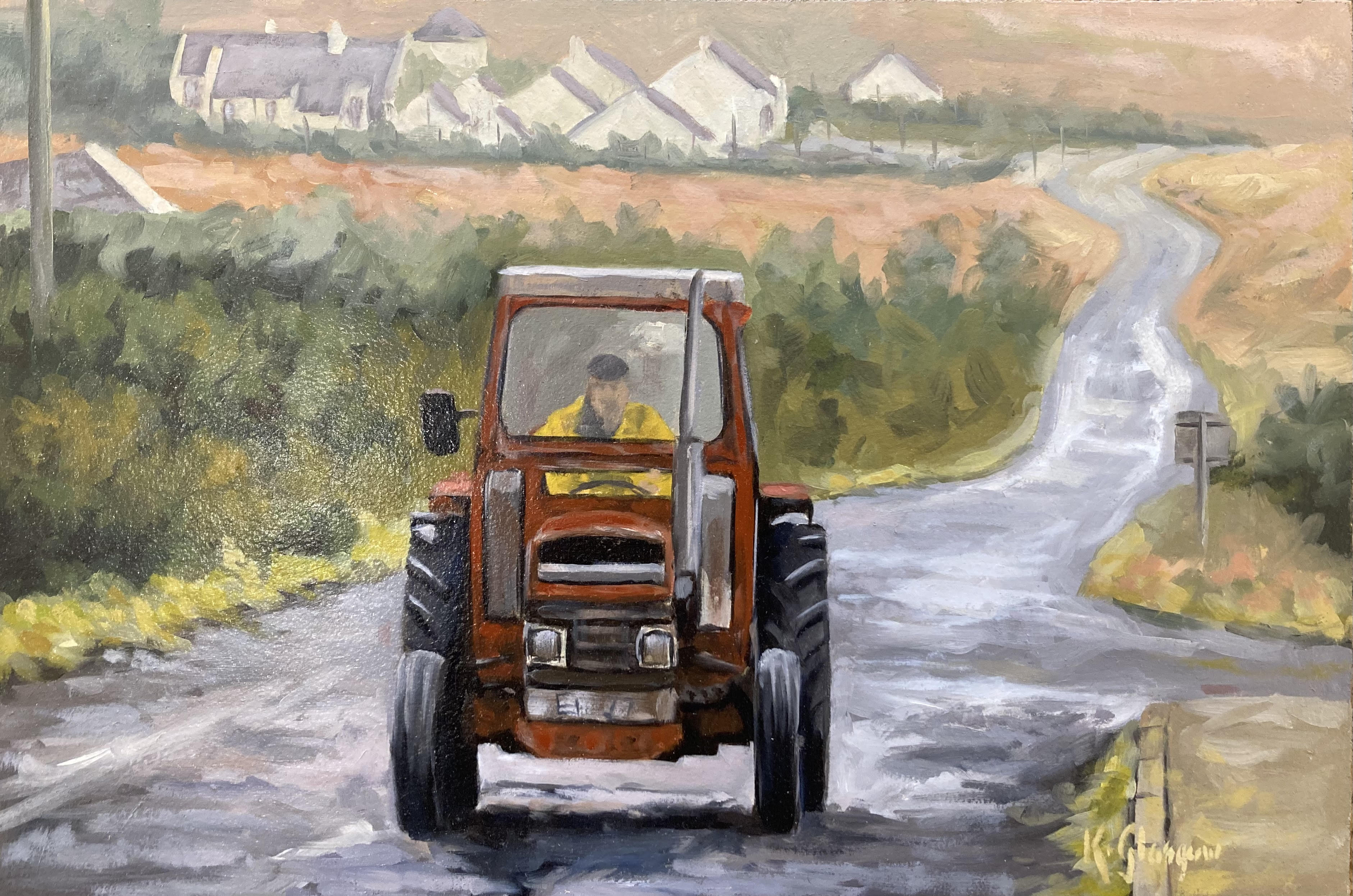 Tractor by Keith Glasgow