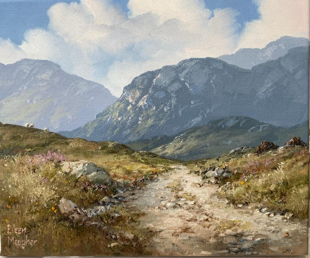 Bog Road near Leenane by Eileen Meagher