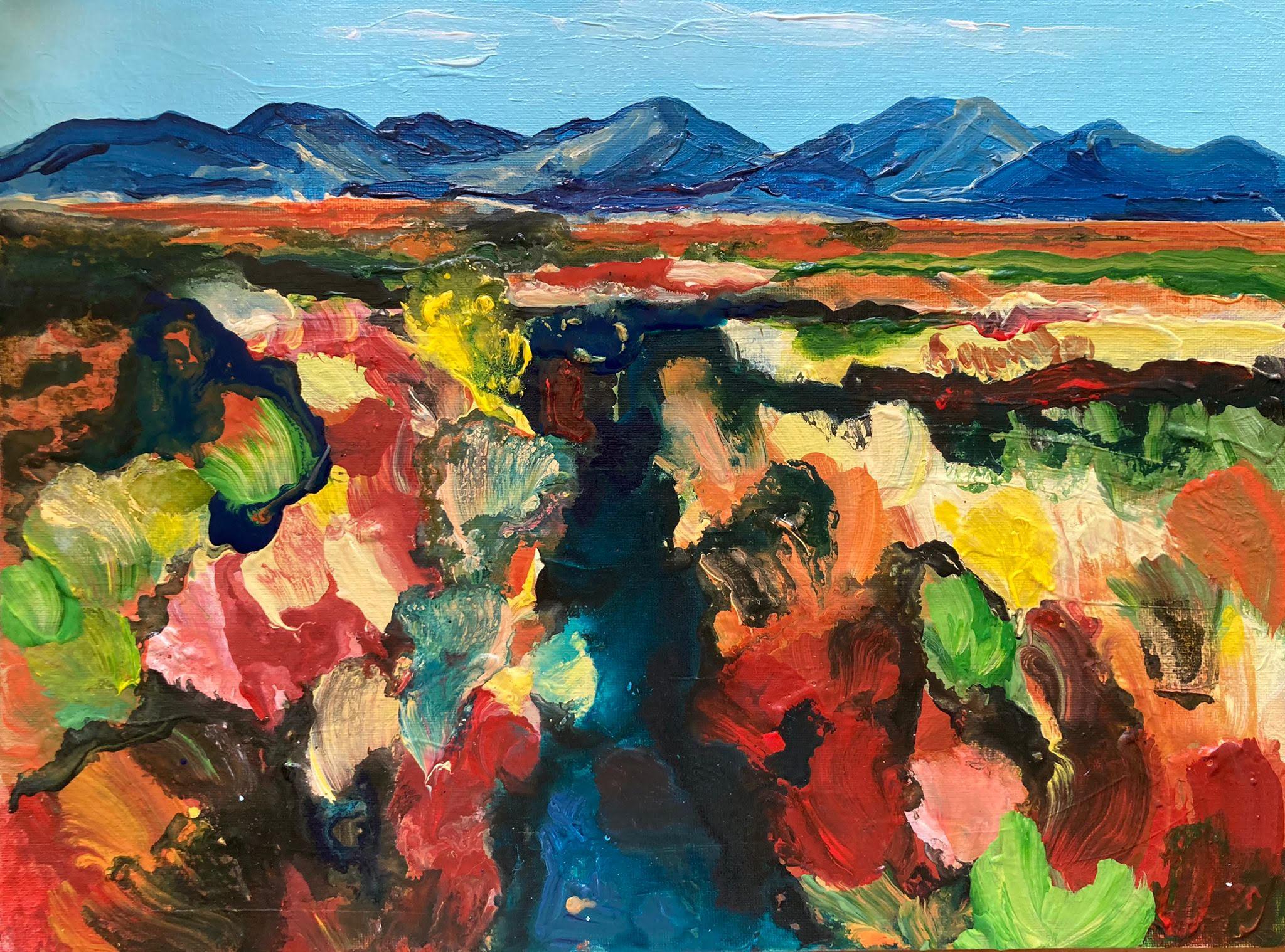 Cut Bog and Regrowth by Debbie Watkins
