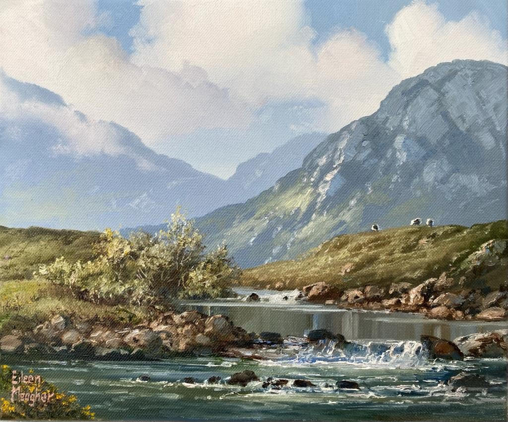 Erriff River by Eileen Meagher