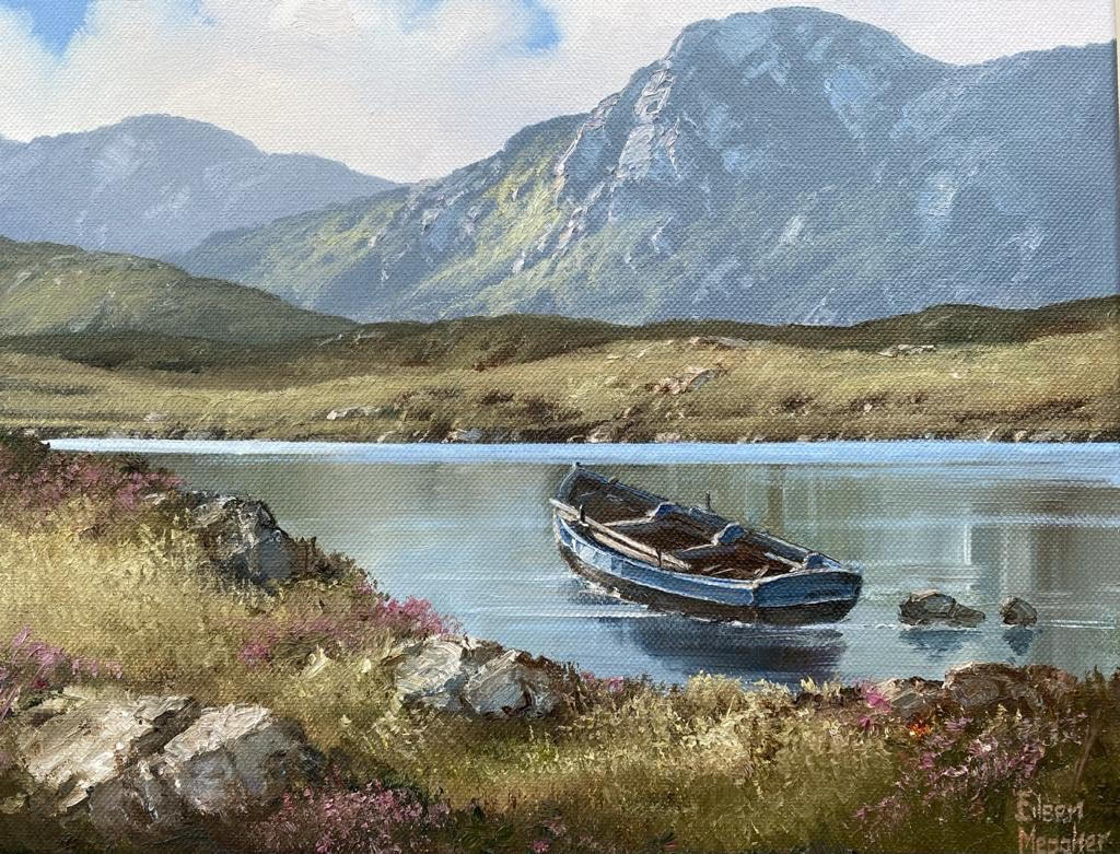 Lakeshore, Inagh Valley by Eileen Meagher
