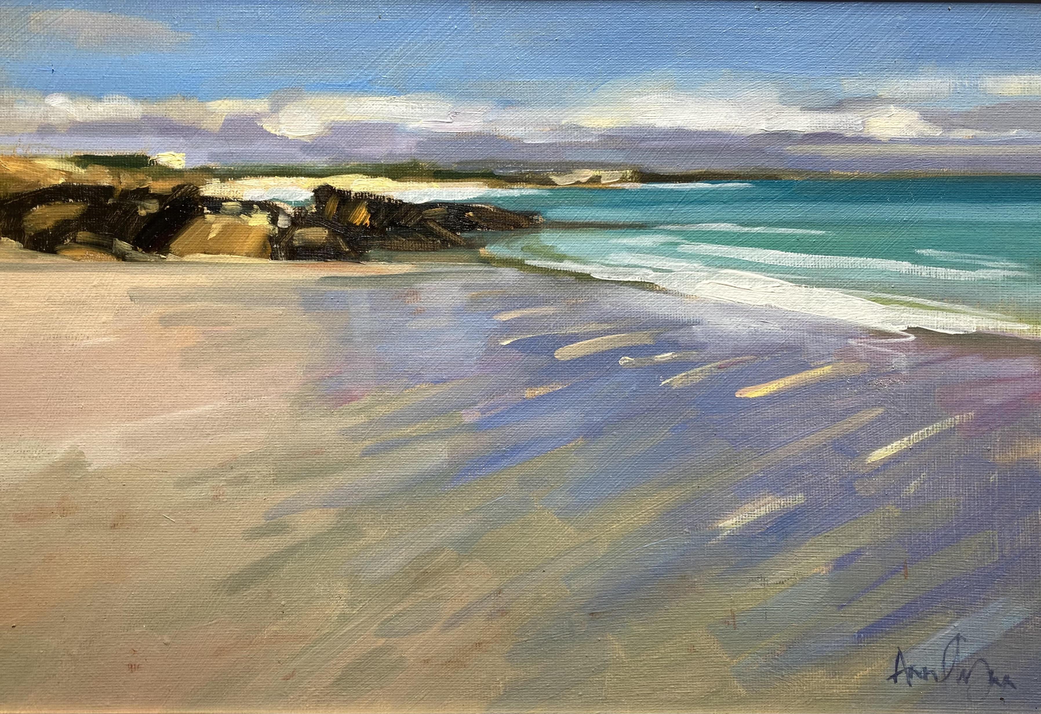 Receding Tide, Ballyconneely by Ann Flynn