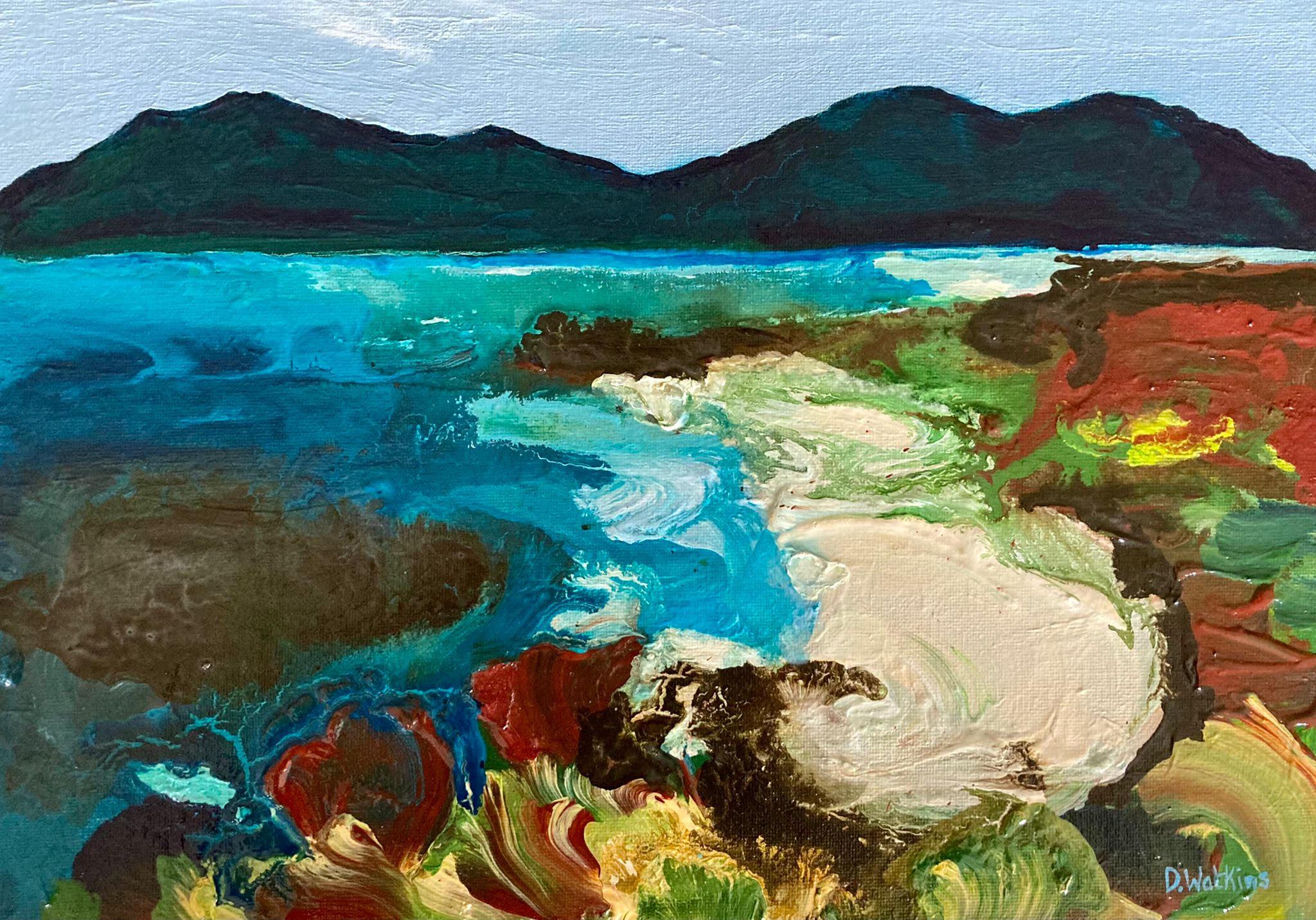 The Edge of the Coast by Debbie Watkins