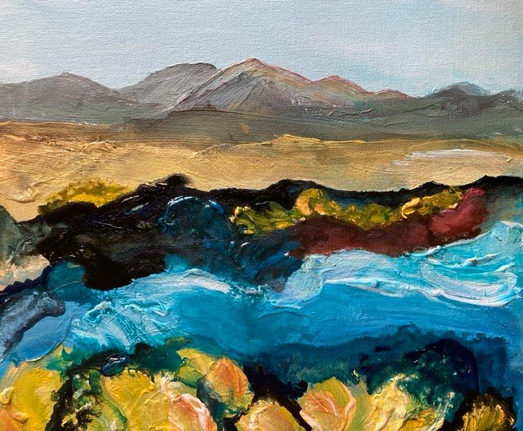 Riverside Gorse by Deborah Watkins