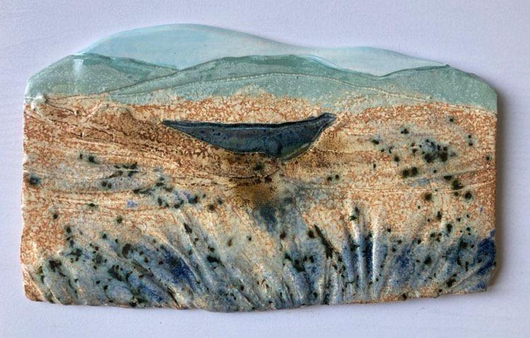 Silver Blue Pool by Deborah Watkins