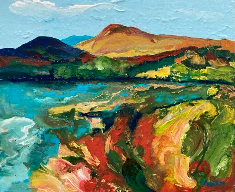 Tidal Inlet by Deborah Watkins