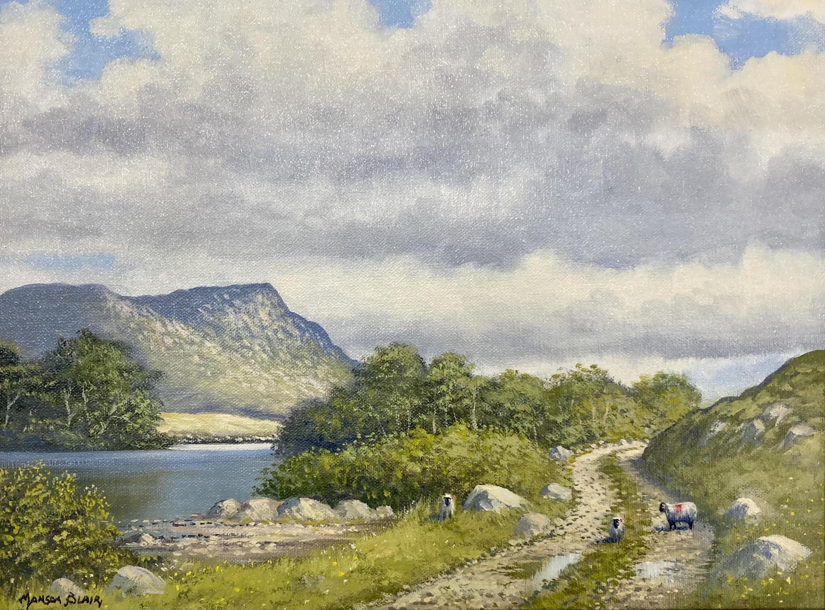 Lough Shindilla by Manson Blair